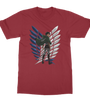 Tshirt Attack on Titan Levi Ackerman