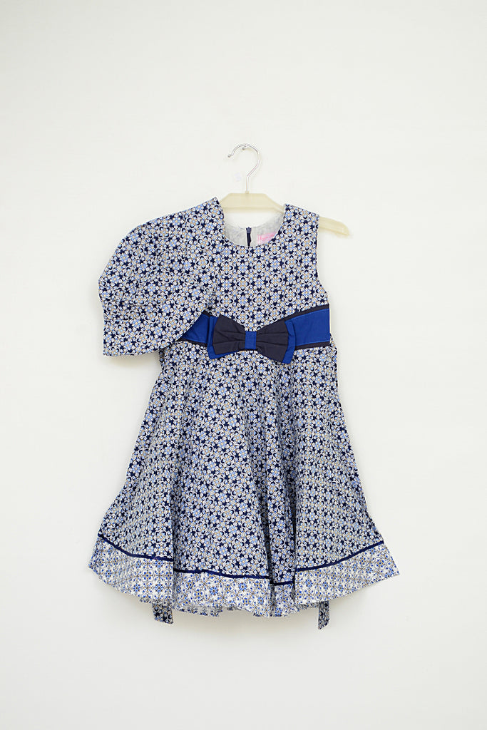 Girls Frock with Cap