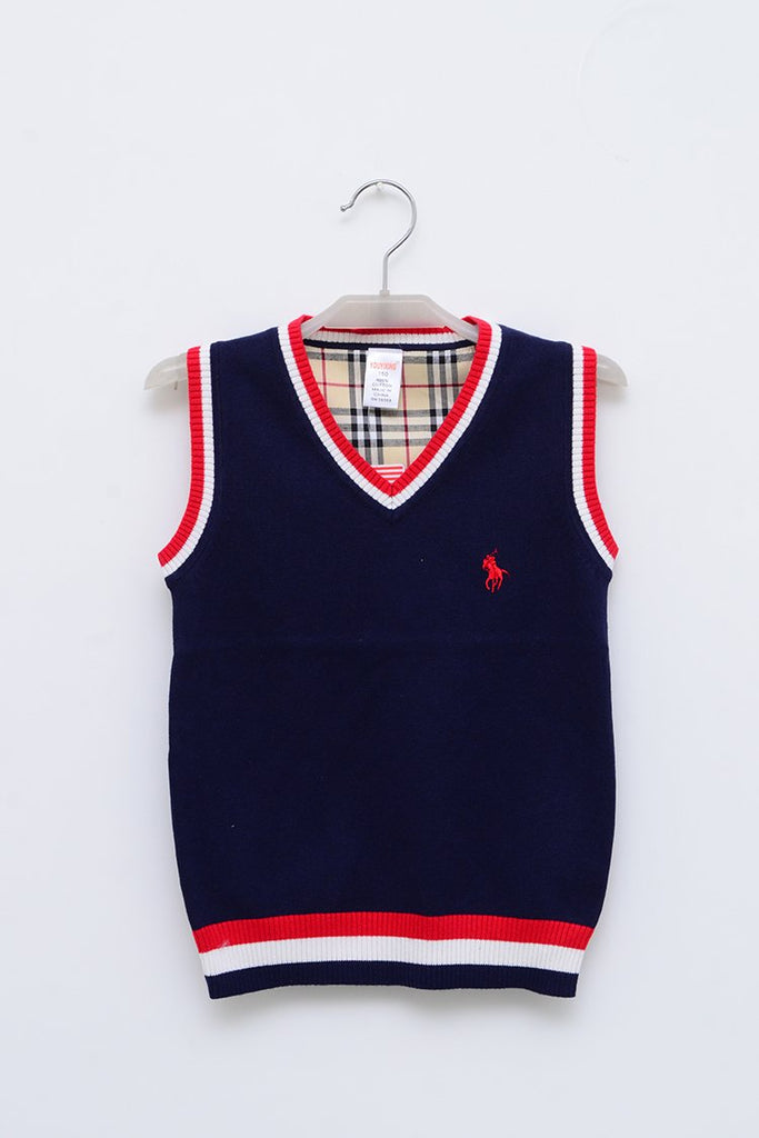 Boys Woolen Sweater Navy
