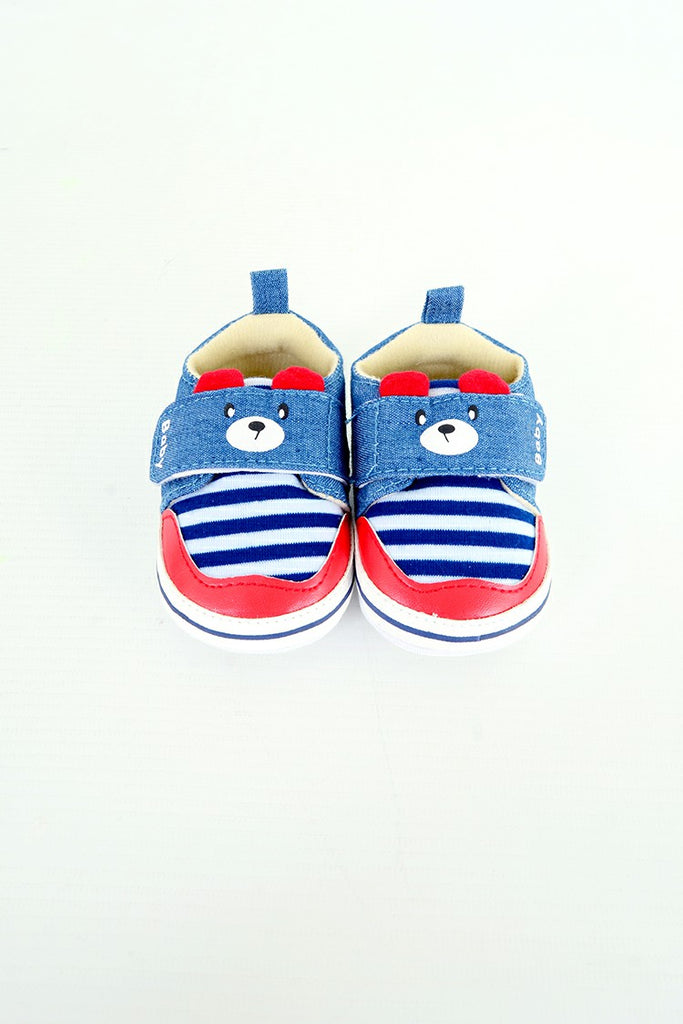 Baby Boy Soft Bottom Shoes Blue