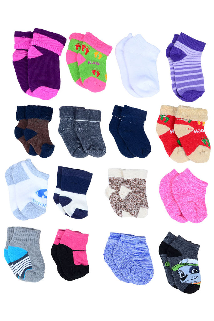 Assorted Baby Non-Slip Soft Socks