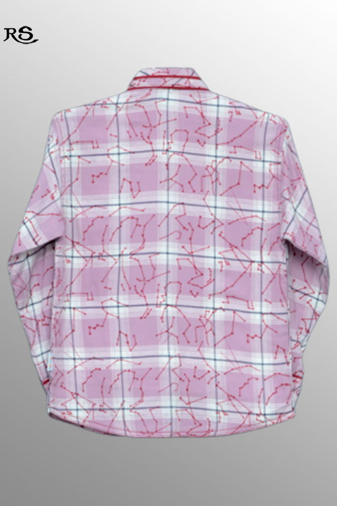Boys Full Sleeves Shirt Pink