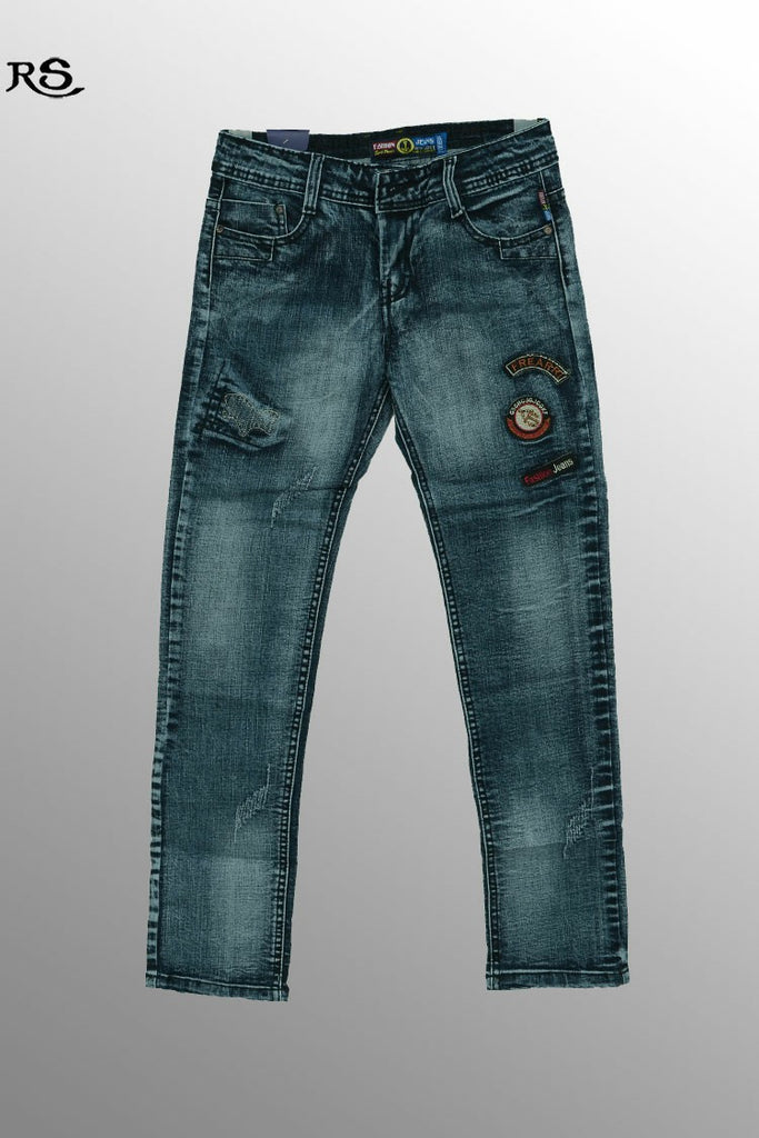 Boys Slim Fit Jeans Navy