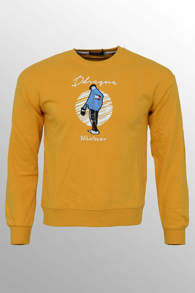 Boys Sweatshirt Yellow