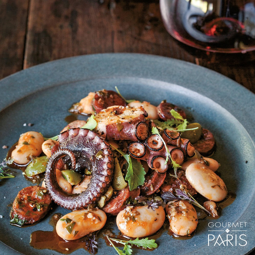 Charred Octopus and Chorizo