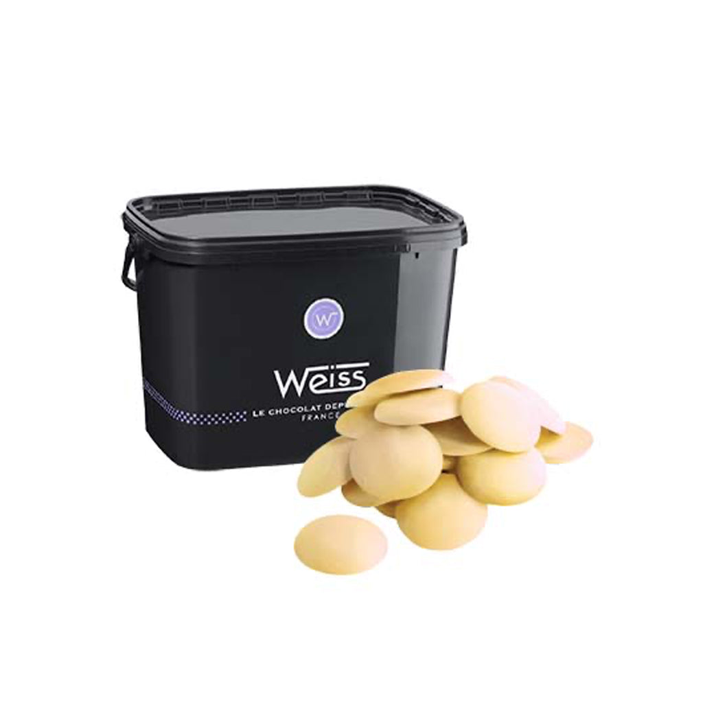 Chocolate White Drops Nevea 29% Weiss 5kg