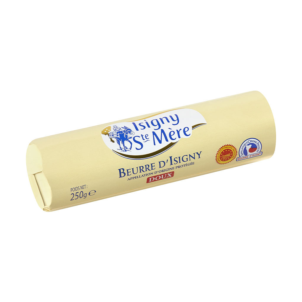 Unsalted Butter Aop Isigny Roll 250g