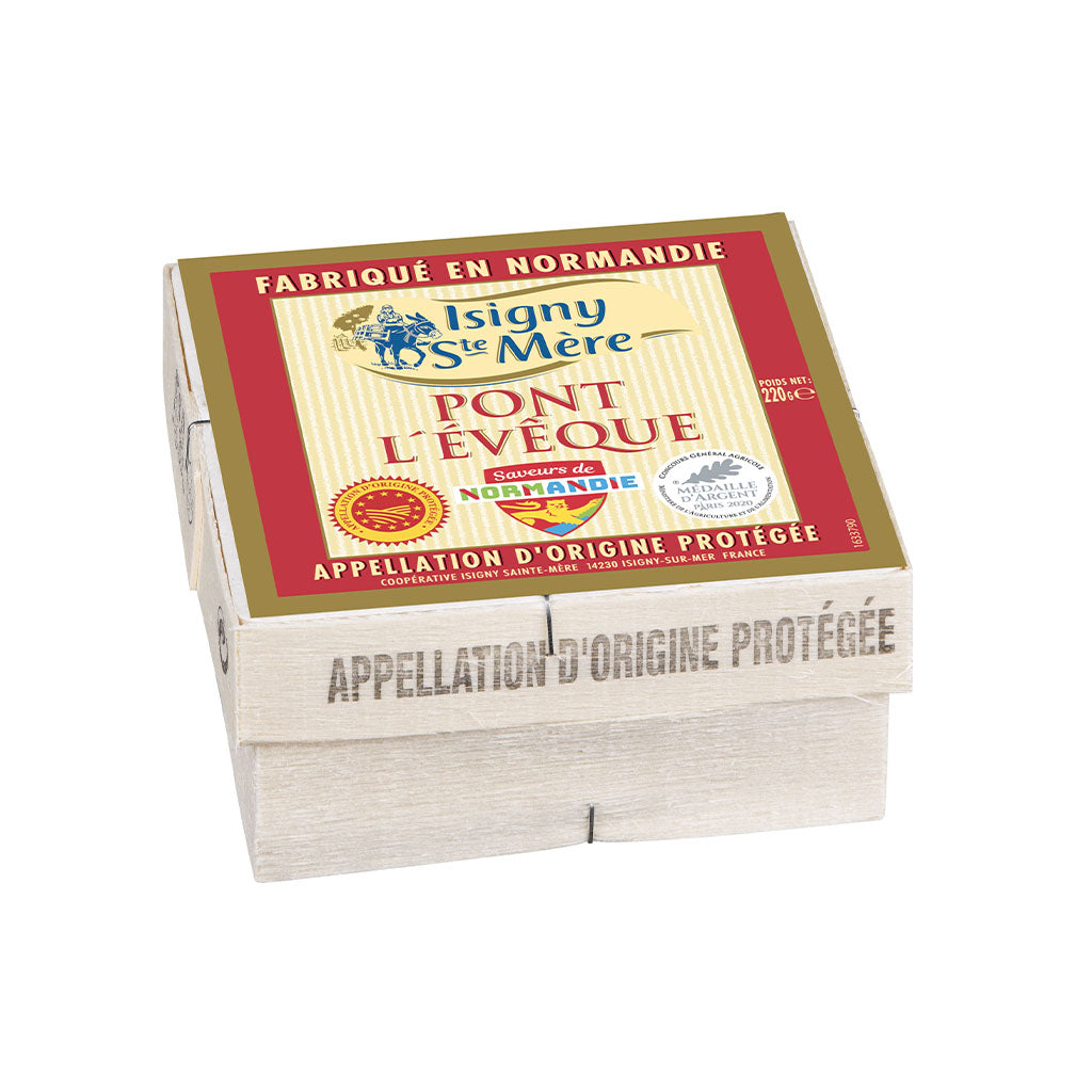 Pont l'Eveque Aop Label Rouge Pasteurized Isigny 220g