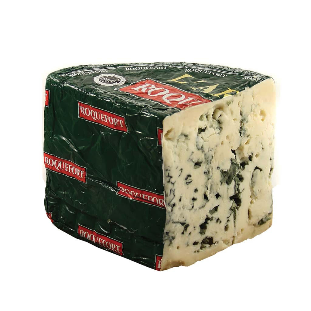 Roquefort Aop Arbas Fromageries Occitanes 1/2 Loaf 1,4kg