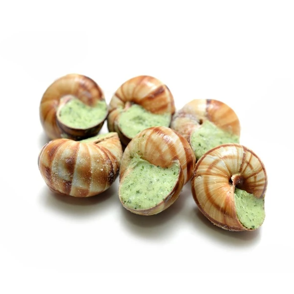 Frozen Snails Helix Lucorum Romanzini V.L. Bag w/48 Units 400g