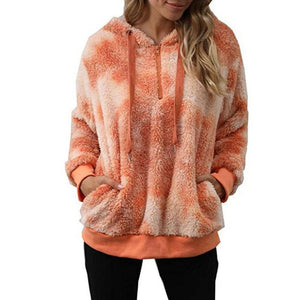 Women's fashion casual hoodie