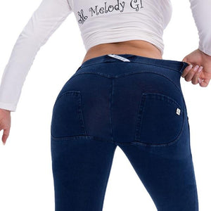 Push Up Jeans Skinny Button Zipper Clothing New Fashion Sexy Pant