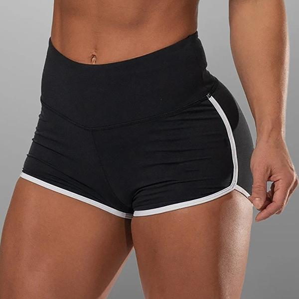 High Rise Sports Yoga Shorts
