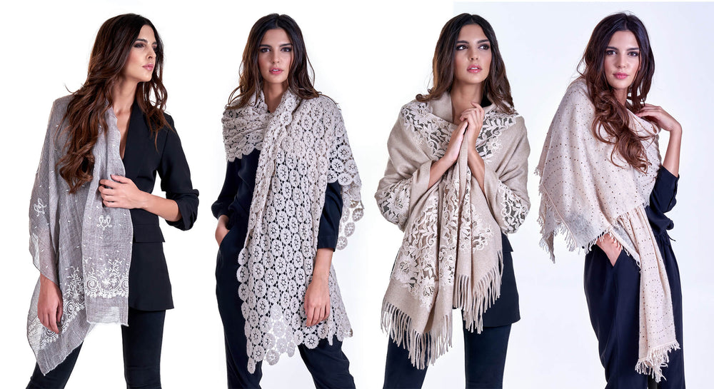 scarves cashmere luxury martina vidal