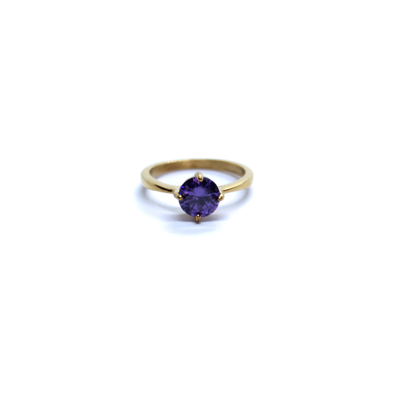 Exclusive Ring - Small Purple Stone