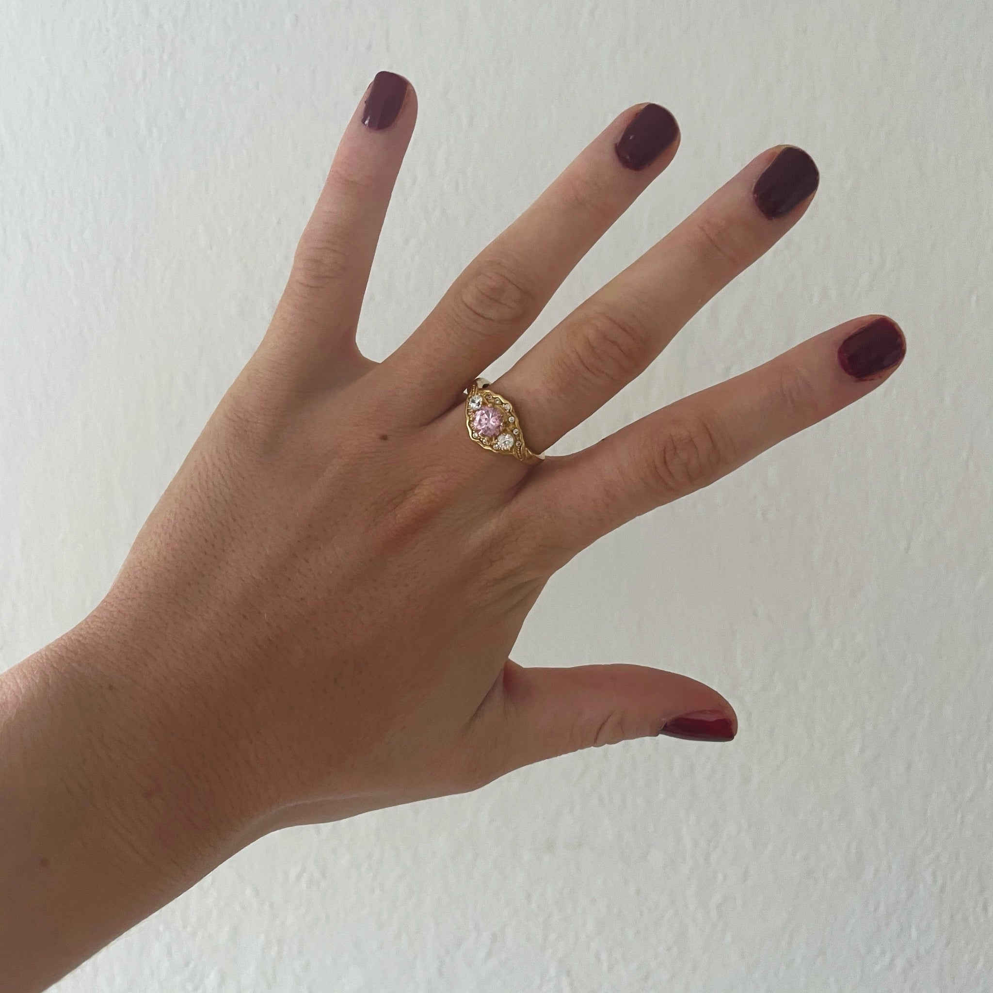 Exclusive Ring - Pink Princess Stone
