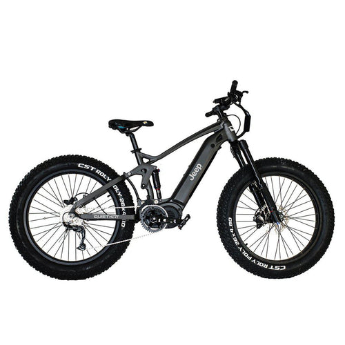 Jeep 2021 Electric Hunting Mountain Bike by QuietKat