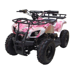 MotoTec V4 Kids Mini Quad Bike ATV - Ebikecentric