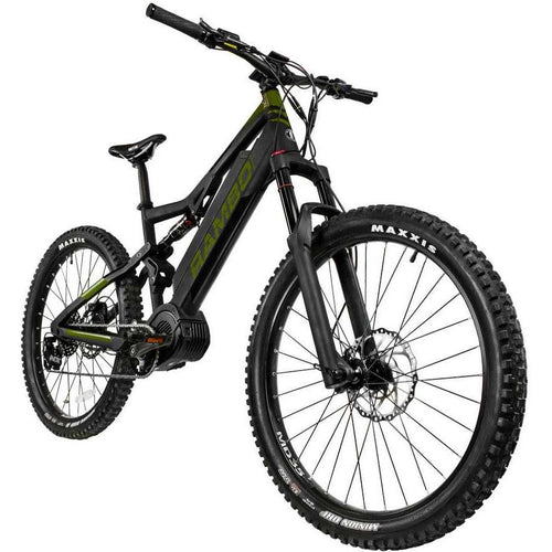 RAMBO RAMPAGE 1000W 48/21AH Full Suspension Fat Tire Electrical Hunting Ebike - Ebikecentric