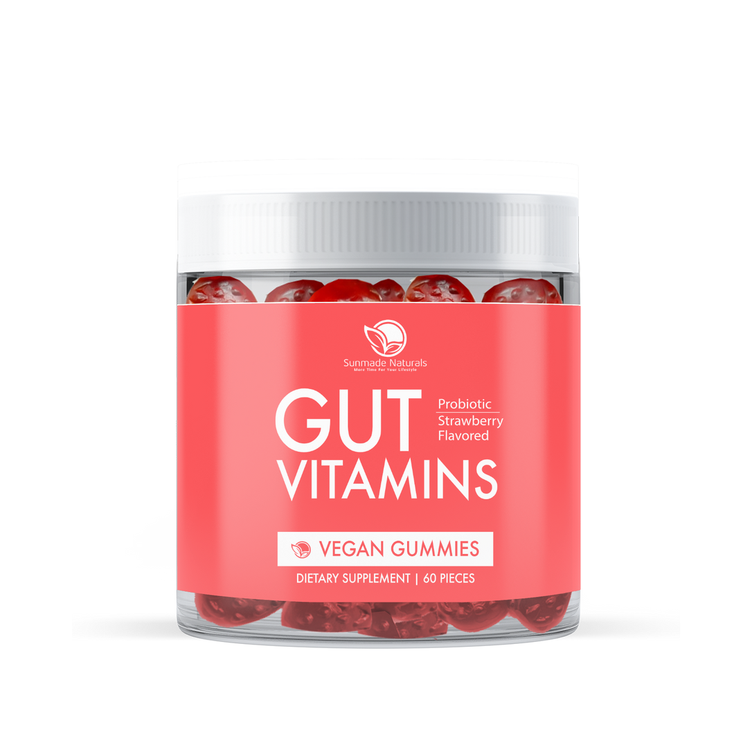 GUT Vitamins - Adult Probiotic Gummies