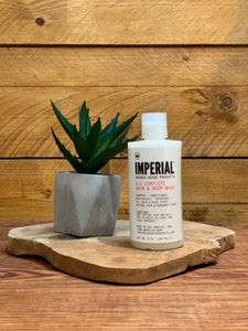 Imperial 3 in 1 complete hair & body wash 265ml