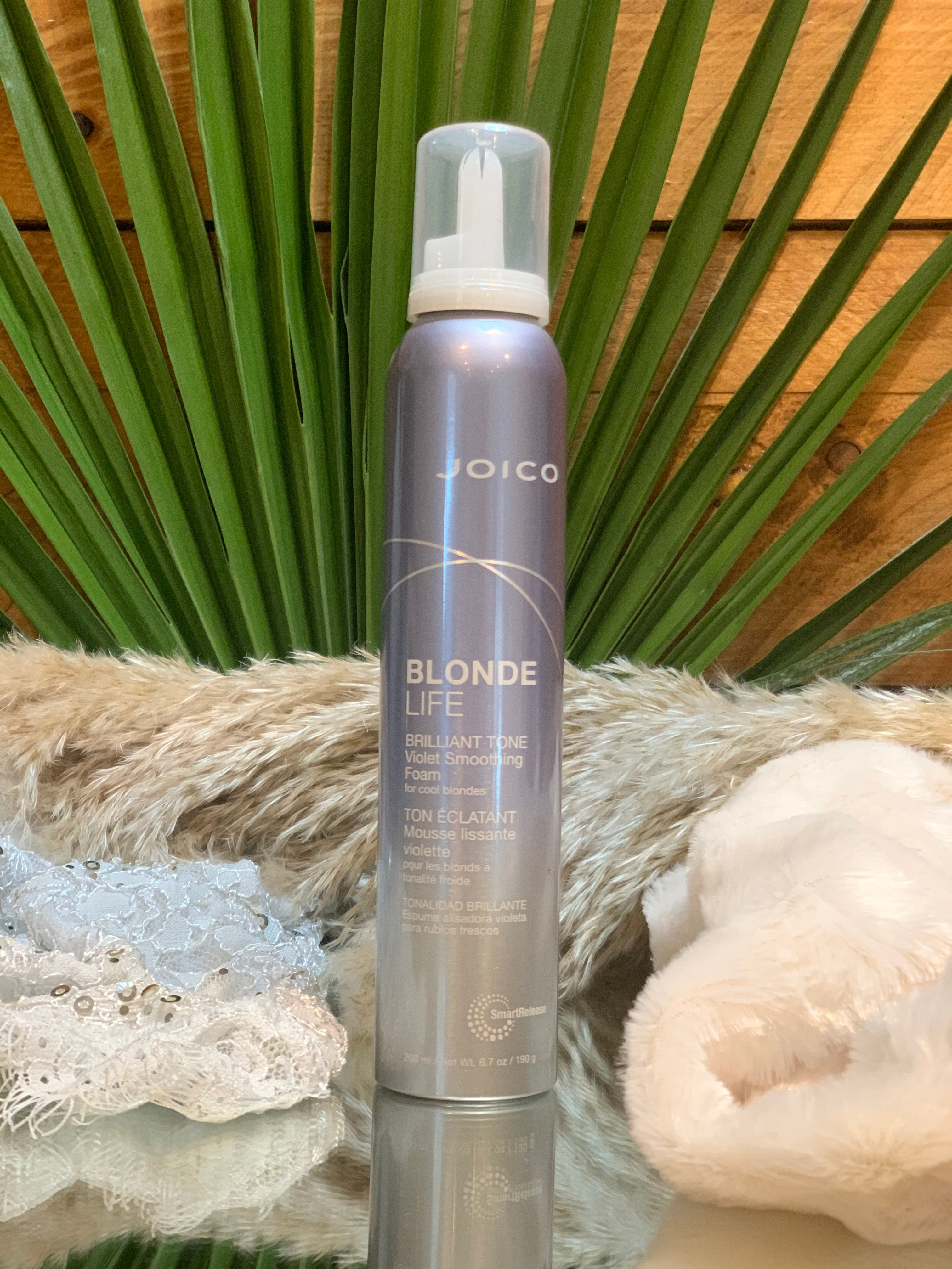 blonde life violet smoothing foam 200ml