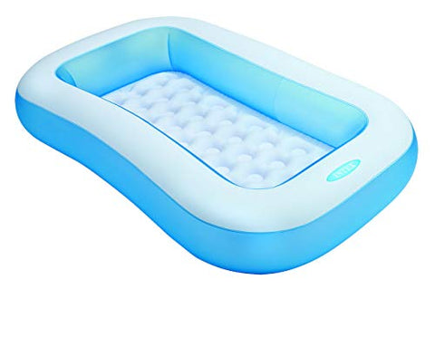 Image of Intex 57403NP - Piscina hinchable rectangular 166 x 100 x 25 cm, 90 litros