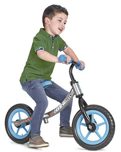 FEBER- My Bike Junior, Color Gris (Famosa 800010964)