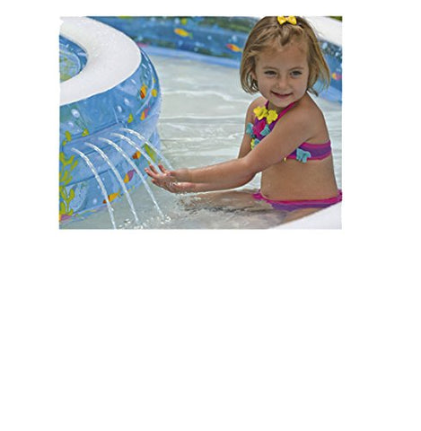 Intex - Piscina hinchable, 279 x 279 x 36 cm, 730 l (57143)