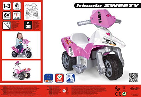 Image of FEBER- Sweety, trimoto 6 V, Famosa 800009608
