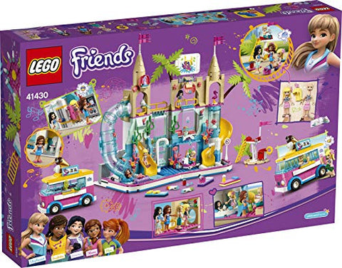 Image of LEGO 41430 Friends Parque Acuático Summer Fun, Set de Construcción con Mini Figuras - Juguetes mil