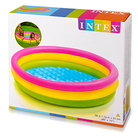 Image of Intex 57412NP - Piscina hinchable 3 aros Sunset 114 x 25 cm