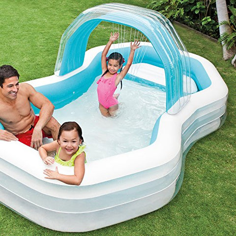 Image of Intex 57198NP - Piscina hinchable 310 x 188 x 130 cm 700 litros