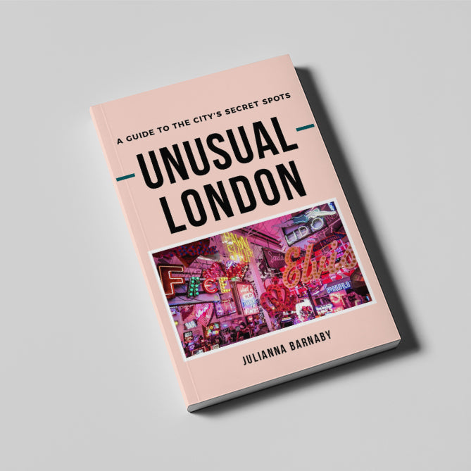 Unusual London Book E-Book