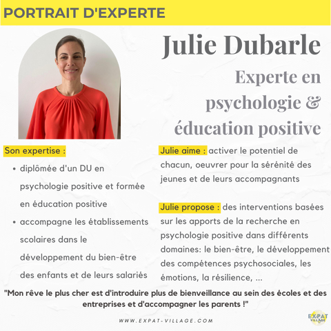 portrait expert julie psychologie positive