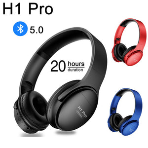 DIAMOND H1 Pro Wireless Bluetooth Headphones - diamond techno Camera Stand selfie stick Accessories PHONE HOLDER SMART Dimmable TRACKER