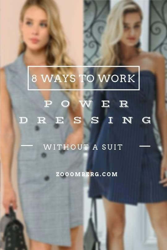 Power Dressing Without Wearing A Suit - Zooomberg