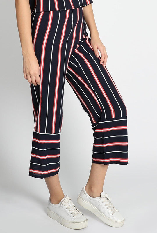 Get Stripes Culottes with RS. 1110.00