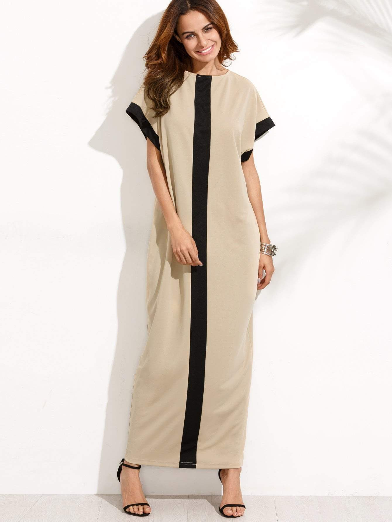 Pocket Full Length Tee Dress - zooomberg
