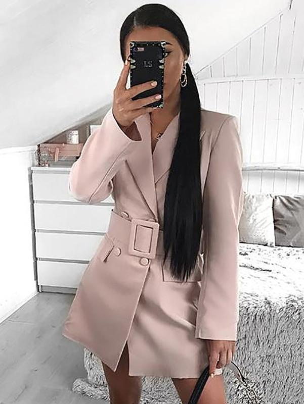 Elegant Blazer Long Sleeve Jacket Outwear Ladies Fashion Jacket - zooomberg