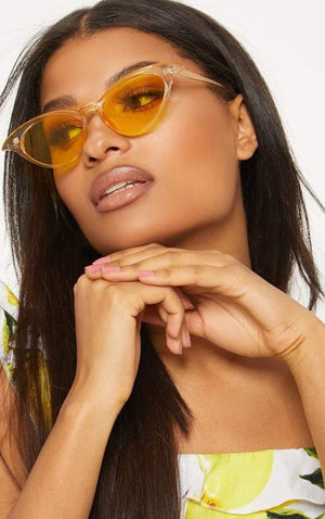 Yellow Wing It Sunglasses