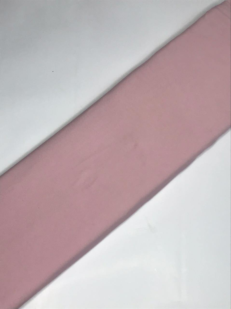 Imported Nude Pink Light Scuba Fabric (Width - 58 Inches)