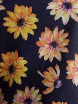 Floral Digital Printed Silk Chinon Fabric