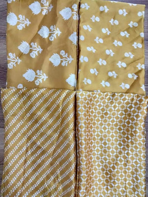 Floral Printed Modal Satin Fabric
