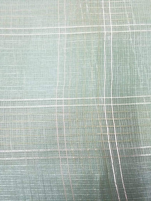 Mint Green Plain Dyed Banarasi Kota Fabric - Zooomberg