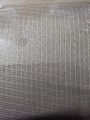 Grey Plain Dyed Kota Doria Fabric