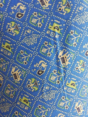 Rayon Animal Pattern Printed Fabric - Zooomberg