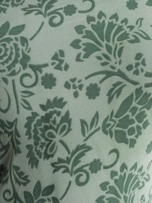 Floral Printed Georgette Fabric - Zooomberg