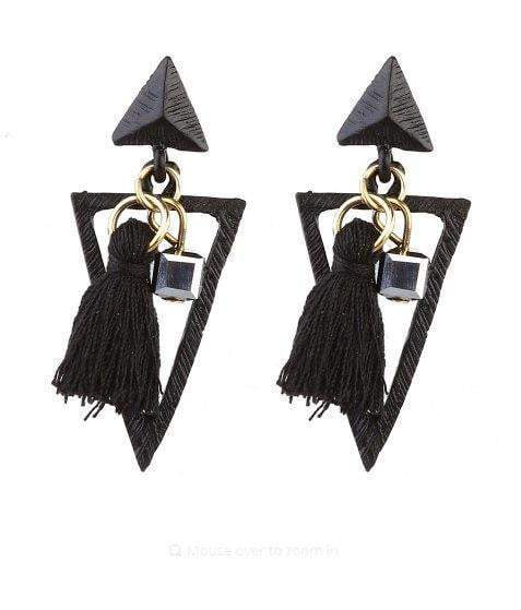 Long Tassels Drop Earrings - Earrings - Zooomberg - Zoomberg