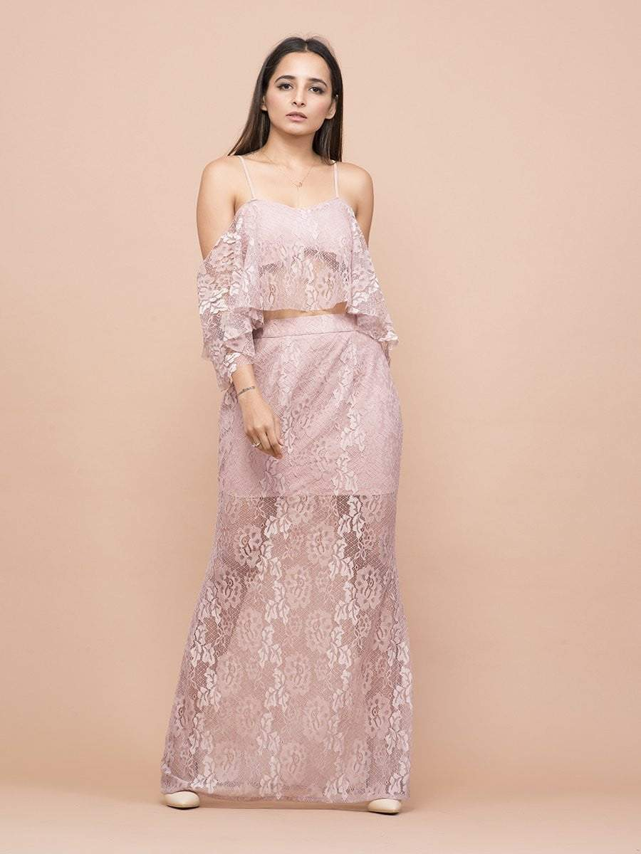 Vintage Rose Pink Co-Ord - zooomberg